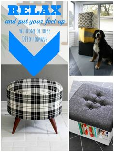 Top ten diy ottomans
