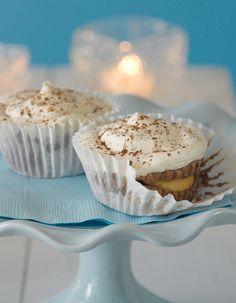 No-Bake Chocolate Cream Cupcakes #recipe #nobake #dessert
