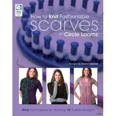 diy scarf with circle loom