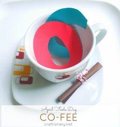 April fools day coffee