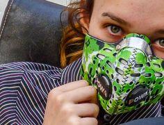 Respro® Skins™ pollution mask - PETAL #matchyourstyle