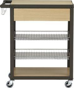 mise en place kitchen cart  #CB2