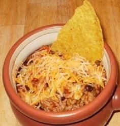 Crock-Pot Taco Junk Recipe .. great party idea