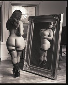 London Andrews angles, mirrors, mirror mirror, vintage, beauti, bbw, london andrew, beauty, curves