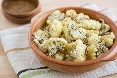 roasted chia cauliflower - yummy!
