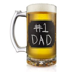 Don't forget your Daddy!  Perfect for Root Beer, too.