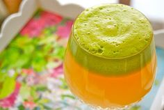 Apple Ginger Green Juice  1 Gala Apple  Euro Cucumber  1 lemon with peel  knob of ginger with peel