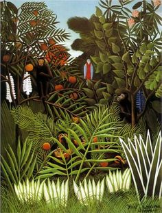Exotic Landscape - Henri Rousseau