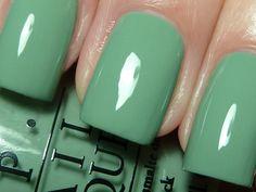 mint green, nailpolish, nail colors, spring summer, nail polish collection
