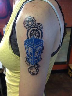 Dr who tattoo