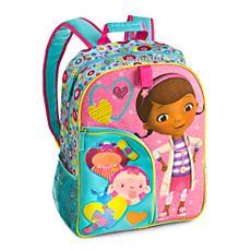Doc McStuffins Backpack - Personalizable