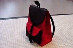 Splitcoaststampers - Backpack Box Project Tutorial by Mary Arima