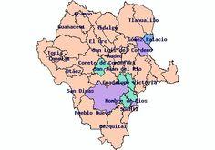 39 municipios de durango:
