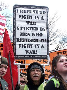 Anti-War Rally 17 March 2007, via Flickr.