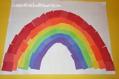 Tons of fun rainbow ideas! #rainbow