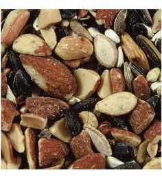 This nutritious, 100% natural seed and nut blend is sure to attract a wide variety of wild birds to your feeders all year long. Ingredients: Nuts, peanuts, hulled sunflower seeds, sunflower seeds, safflower seeds, shelled corn, pumpkin seeds and raisins. This is the best food available for attracting nuthatches, titmice, wrens, chickadees, woodpeckers and jays. Made in the United States.