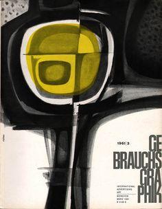 Cover of Gebrauchsgraphik No. 3, 1961