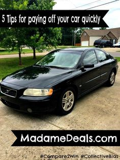 5 Tips for Paying off your Car Quickly and Lower your Car Insurance! These are super helpful tips, don't forget to share them with your friends! #Shop #Compare2Win #Inspireothers