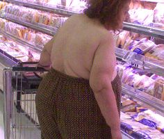 That awkward moment when you can't find a bra, so you just stuff your boobs in your pants..