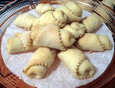 Apricot Filled Hungarian Kifli Cookies