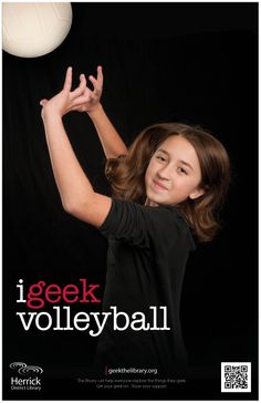 """i geek volleyball"""
