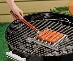 Rolling Hot Dog Griller With Handle