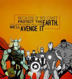 Avenge it.