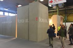 Fiora stand at Cersaie 2015