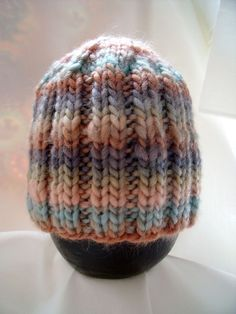 Beautiful Hand Knit Baby Hat