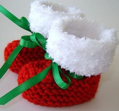 Shoes for baby on Pinterest Baby Booties, Knitted Baby ...