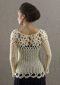 crochet pattern - avalon top