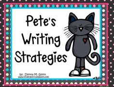 These 6 Pete the Cat posters will make your little ones excited to learn about the writing process. Use them as a reference to hang on your wall. E...