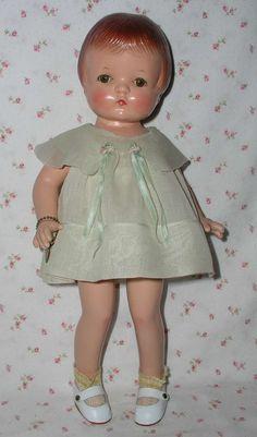 """~ 15"""" 'Effanbee' """"Patsy Joan"""" Doll ~ (1930's)"""