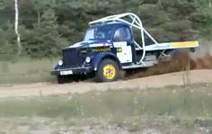 Russian Rally Truck vs. Tree! (VIDEO) Who wins? Click the pic to watch.