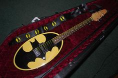 My #Batman Guitar!