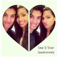 Happy Fifth Anniversary!! ❤