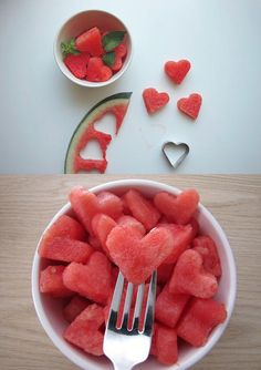 Cookie cutter to cut fruits <3