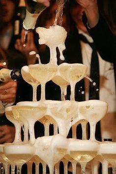 Gatsby champagne toast