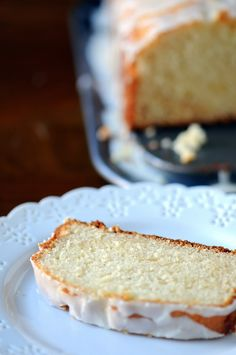 Cinnamon Sugar-Eggnog Cake with Bourbon Glaze