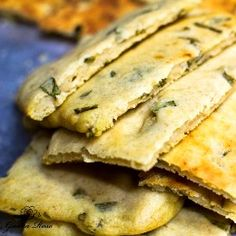 Buttermilk Scallion Flatbread Sometimes you need some kind of bread or starch for a meal, but you don't have anything at home, and you don't...