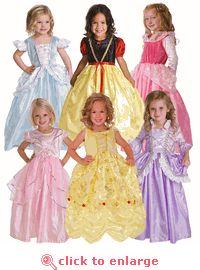 Ultimate Tea Party Princess Dress Up Set - 6 of our most popular princesses dresses discounted!