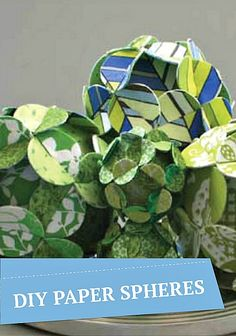 Paper craft | Decorative flower balls are the perfect table accessory for any holiday. Get the DIY tutorial @ joann.com