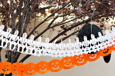 Backyard Halloween Party