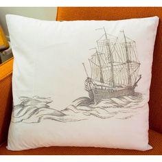 Ship Pillow