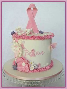Breast Cancer Awareness Cake