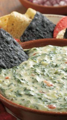 Cheesy Spinach Dip Recipe