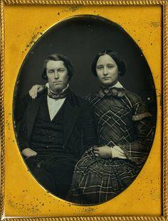 Gorgeous Couple 1 4 Plate Daguerreotype Crisp Sharp Superb Holographic Depth
