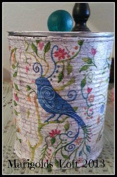 Diana Rambles: Tin Can Craft