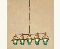 diy glass insulators | ... antique telegraph and electrical insulators. At Napa Style