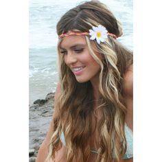 daisy hippie Headband